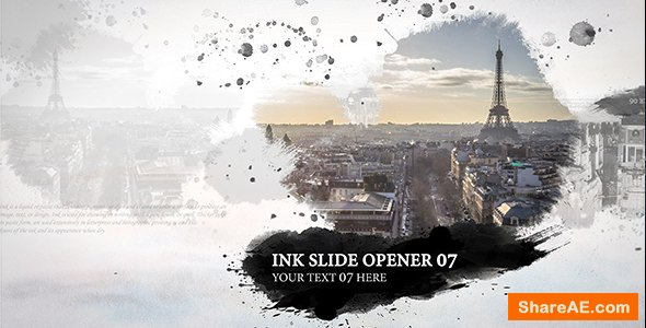 Videohive Ink Slide - Opener