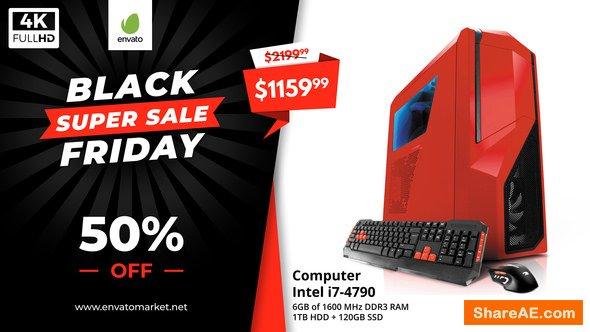 Videohive Black Friday Sale Promo