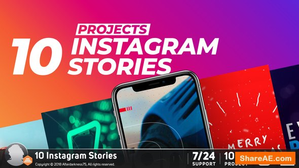 Videohive Instagram Stories 22798802