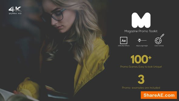 Videohive Magazine Promo Toolkit
