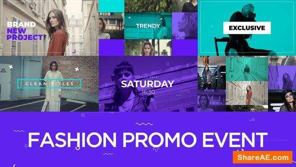Videohive Fashion Promo Event