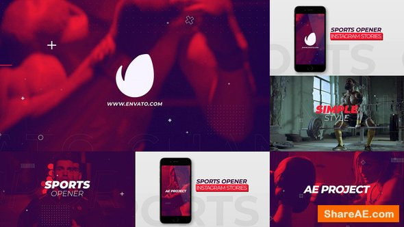 Videohive Sports Opener Instagram Stories