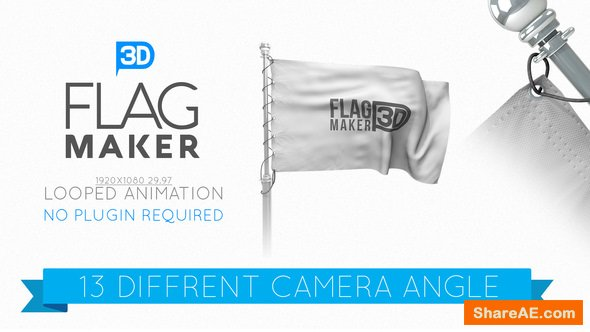 Videohive Flag Maker