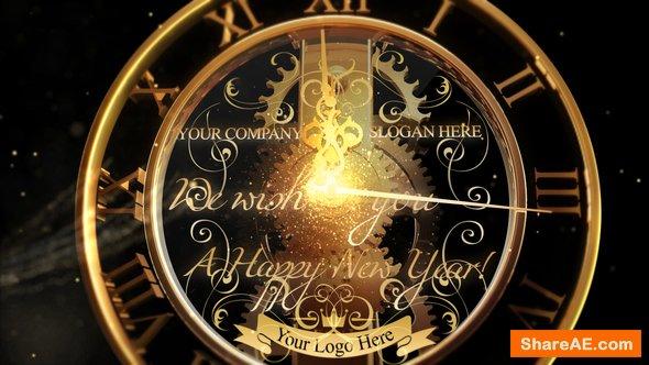 Videohive New Year Countdown Clock 2019 V2