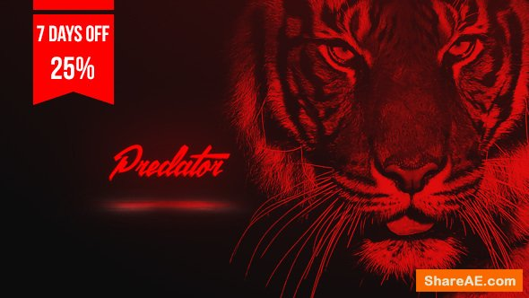 Videohive Predator - Sport Opener