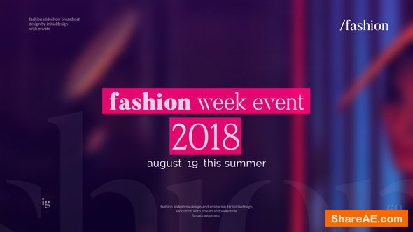 Videohive Fashion Opener | Dynamic Promo 21740589