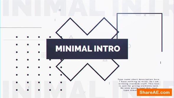 Videohive Minimal Intro