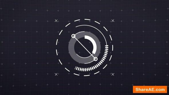Videohive 2D Hi-Teck Logo Reveal