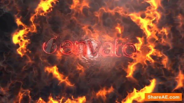 Videohive Fire Logo 22847189