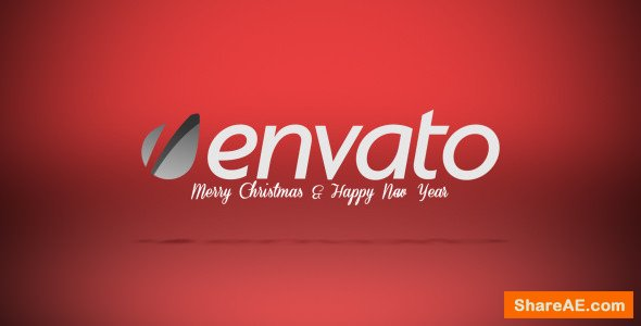 Videohive Snow Flakes Logo Reveal