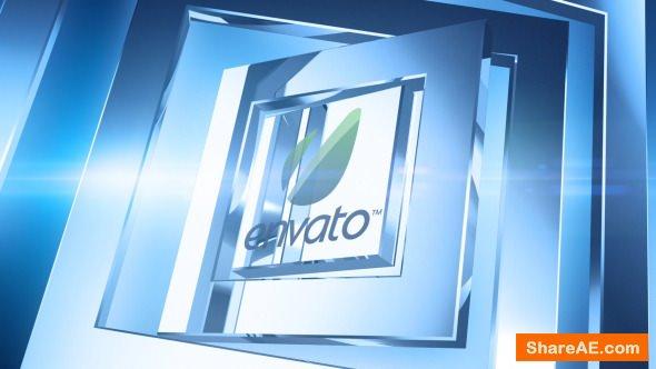 Videohive Corporate Chrome Logo