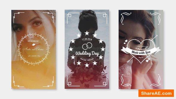 Videohive Wedding Instagram Stories