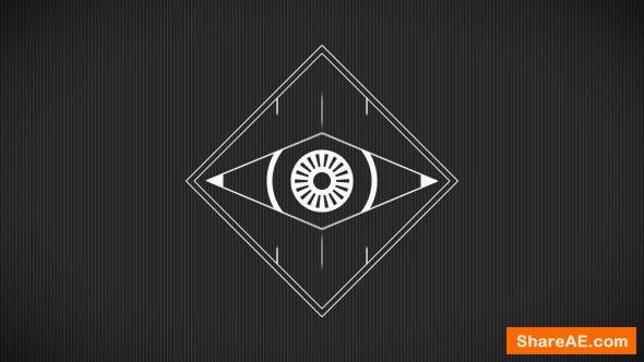 Videohive Minimal Abstract Eye Logo