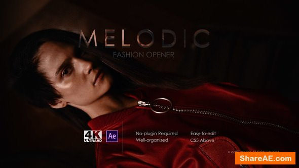 Videohive Melodic Fashion Opener