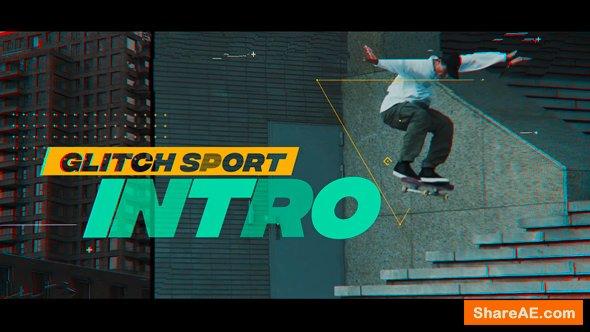Videohive Glitch Sport Intro
