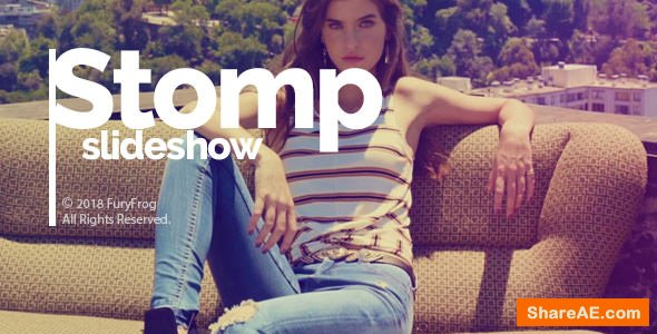 Videohive Stomp Slideshow