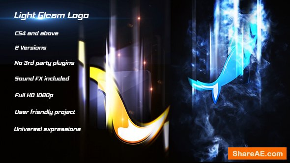 Videohive Light Gleam Logo