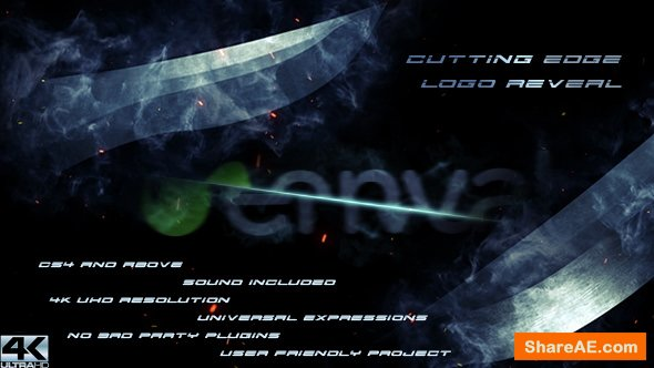 Videohive Cutting Edge Logo Reveal