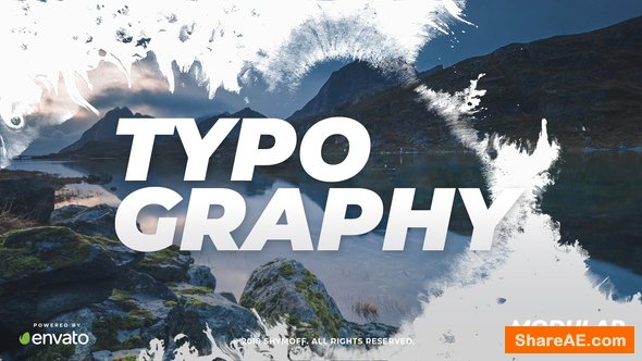 Videohive Ink Typography