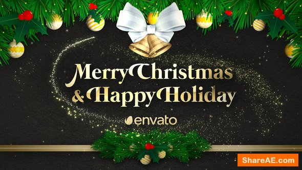 Videohive Christmas Greeting