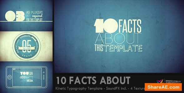 Videohive 10 Facts About