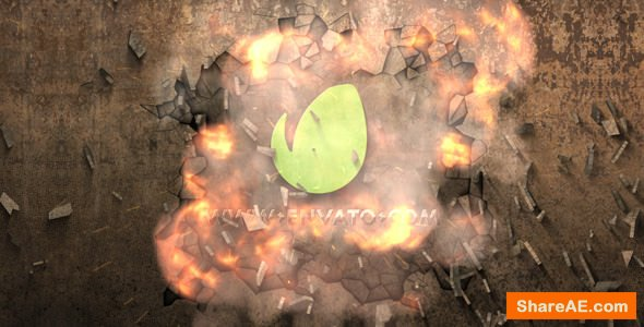 Videohive Logo Explosion Reveal