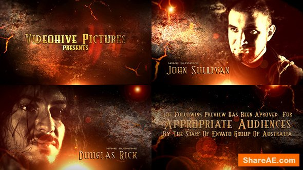 Videohive Grunge Epic Trailer