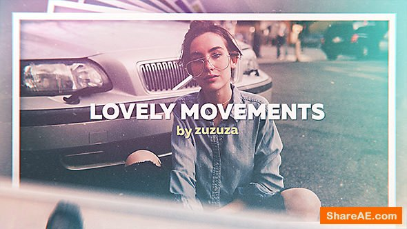Videohive Lovely Movements - Vintage Slideshow