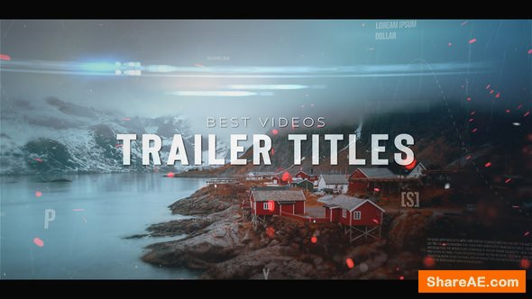 Videohive Dynamic Trailer Titles