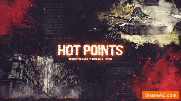 Videohive History Opener // Hot Points
