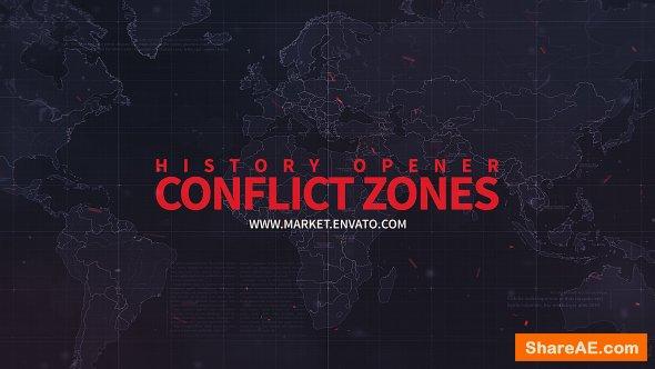 Videohive History Opener // Conflict Zones