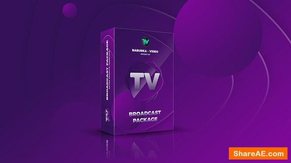 Videohive Broadcast Package // Colored TV