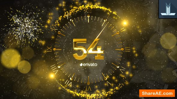 Videohive New Year Countdown 2019 23056020