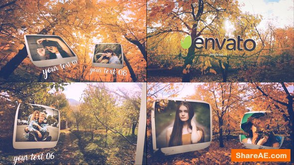 Videohive Autumn Slide