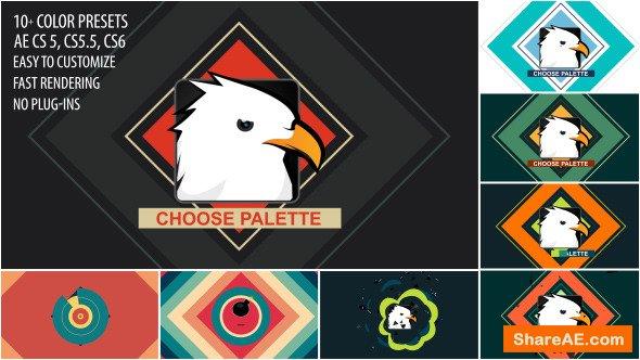 Videohive Shape Bomb Logo Reveal