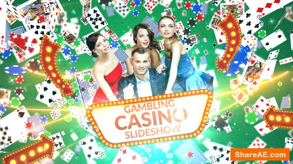 Videohive Gambling Casino Slideshow