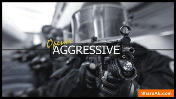 Videohive Aggressive Logo