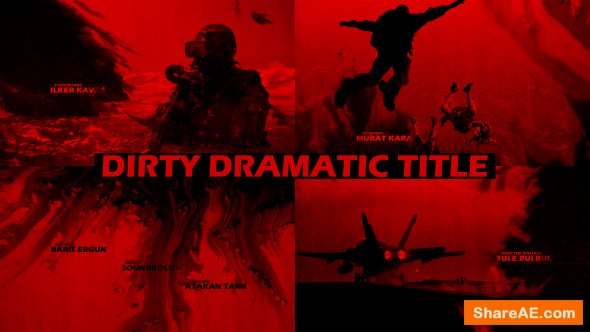 Videohive Dirty Dramatic Title