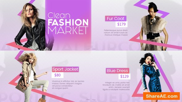 Videohive Clean Fashion Market
