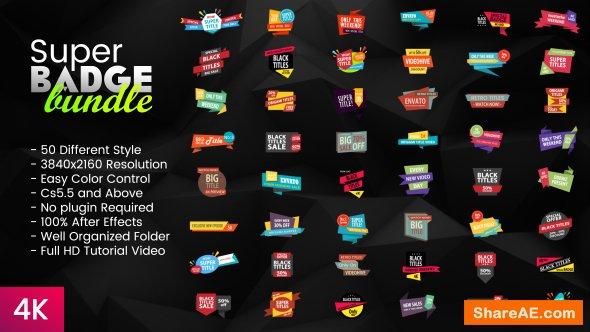 Videohive Super Badge Bundle