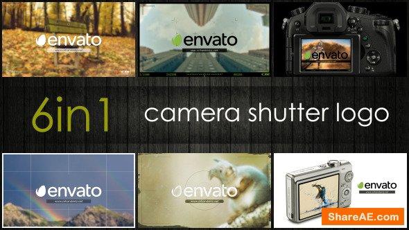 Videohive Camera Shutter Logo