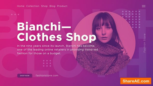 Videohive Fashion Shop 22859243