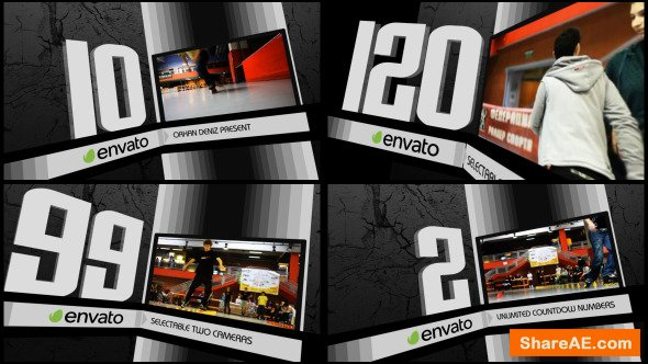 Videohive Countdown Machine