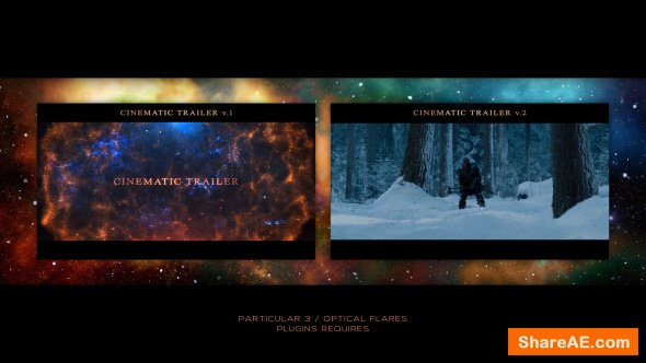 Videohive Cinematic Trailer 21269752