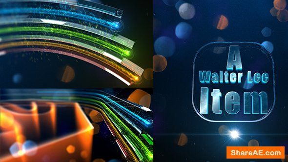 Videohive Colorful Glass Opener