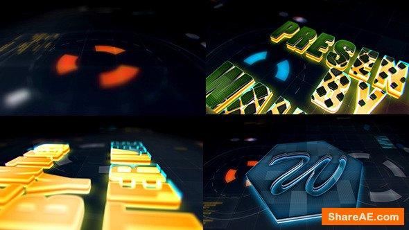 Videohive High Tech Logo Reveal 12941697