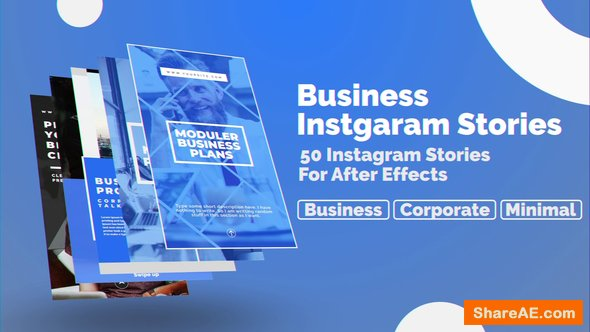 Videohive Business Instagram Stories