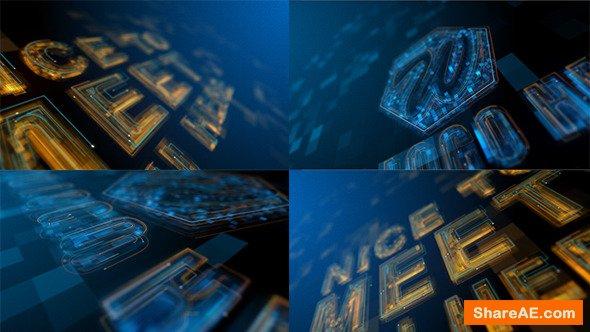 Videohive High Tech Grow Line Logo