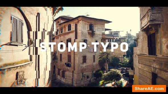 Videohive Stomp Typo