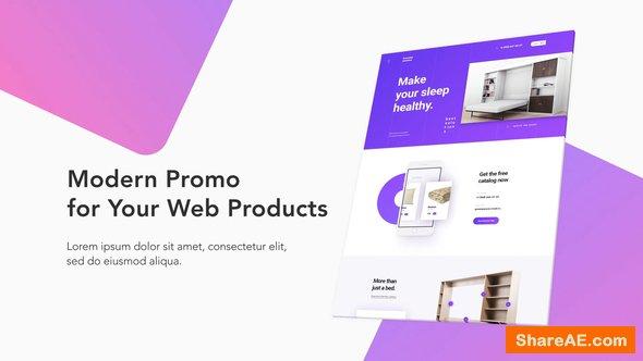 Videohive Modern Website Promo